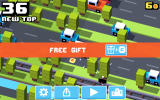Crossy Road Android A free gift of coins