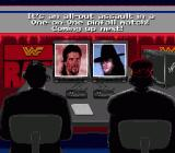 WWF Raw Genesis The commentators present the wrestlers.