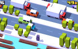 Crossy Road Android An ice world with the penguin