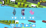 Crossy Road Android Choose a premium character to try it out for a short time.