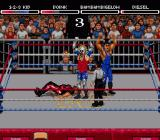 WWF Raw Genesis Make strategic tags and pin your opponent down to secure the win.