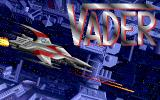 Vaders Amiga Title screen