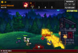 Sentry Knight Browser Burning enemies with a fire wall.