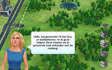 SimCity: BuildIt Android Eva is one of the advisers who helps you with the early parts (Dutch version).