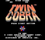 Twin Cobra NES Title screen