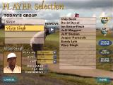 "British Open Championship Golf Windows Clicking ""Players"" takes to Player Selection. You have a mix of amateur to professional golfers to go up against. The pro range contains extremely formidable foes, such as ""The Big Fijian"" himself."