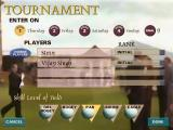 British Open Championship Golf Windows Tournament selection. Set skill level, players, each day of the tourney. A fair number of options.