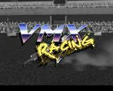 VMX Racing PlayStation Title screen.