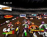 VMX Racing PlayStation A race just started.