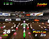 VMX Racing PlayStation A decent view.