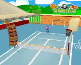 Baby Felix Tennis PlayStation A different court.