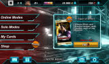 Tekken Card Tournament Android Main menu