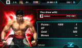 Tekken: Card Tournament Android Double KO after a multiplayer game