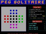 Peg Solitaire DOS Colour Peg is considered to be a much harder game.