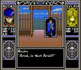 Arcana SNES We met Ariel near the town entrance