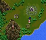 Arcana SNES On the world map, you move automatically and can't control your characters. Strange, but true