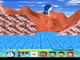 Doraemon: Nobita to Fukkatsu no Hoshi PlayStation Stage 2. So this planet has water? Not bad. Btw, the characters can swim, don't worry.