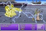 Final Fantasy V Advance Game Boy Advance I heard machinery is easily wrecked with electricity