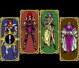 Arcus Odyssey SNES Choosing your character class