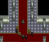 Aretha SNES Intro: the castle is attacked by evil minions