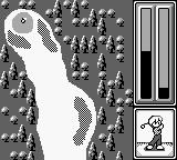 Pocket Golf Game Boy In-game. Hole 2.