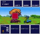 Aretha SNES Fighting trees and snakes. The tree is attacking
