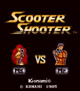 Scooter Shooter  Arcade Title screen