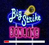 Big Strike Bowling PlayStation Title screen / Now loading.