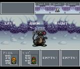 Aretha II: Ariel Fushigi no Tabi SNES Fighting some evil mice