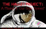 The Halley Project: A Mission In Our Solar System Amiga Title screen