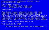 The Halley Project: A Mission In Our Solar System Amiga Story introduction