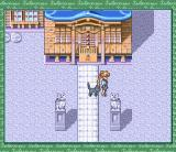Bishōjo Senshi Sailor Moon: Another Story SNES In front of a shrine
