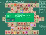Mah Jongg -V-G-A- DOS hitting the 'L' key in the game brings up a menu that allows the player to change the tile set being used