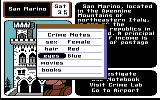 Where in Europe is Carmen Sandiego? Commodore 64 Use the notepad to write down information about the suspect.