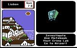 Where in Europe is Carmen Sandiego? Commodore 64 The bad guy is trying to drop a safe on my head and kill me!