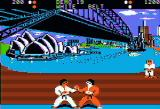 World Karate Championship Apple II Fighting in the Australia stage