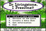 Dr. Livingstone, I Presume? Apple II Title screen