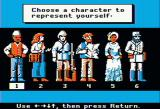 Dr. Livingstone, I Presume? Apple II Choosing the character representation