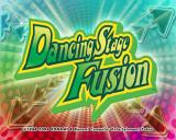 Dancing Stage Fusion PlayStation 2 The game's title screen follows the KONAMI company logos and a couple of health warnings
