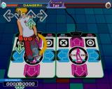 Dancing Stage Fusion PlayStation 2 If a player makes the right moves they are cheered.
