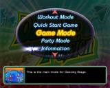 Dancing Stage Fusion PlayStation 2 The game selection menu