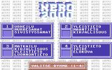 Nero 2000 Commodore 64 Question category selection
