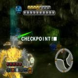 BIONICLE Heroes PlayStation 2 The chamber of the end of level boss.
