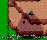 Brain Lord SNES Jumping through the mountain path