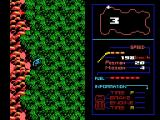 F-1 Spirit: The Road to Formula 1 MSX A crash! The car was thrown into the woods.