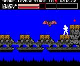 Vampire Killer MSX A really dangerous passage, but I have invincibility ring