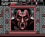 Vampire Killer MSX Dracula's second form is a portrait for some reason. Ghostbusters 2?
