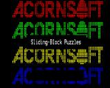 Sliding-Block Puzzles BBC Micro Loading screen