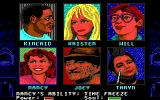 A Nightmare on Elm Street DOS Select one of five characters here. Joey is always the character being rescued.
