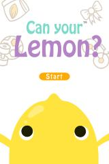 Can your Lemon? iPhone Title screen